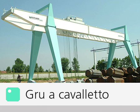 Gru a Cavalletto